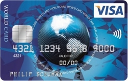 Kostenlose ICS Visa World Card