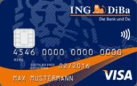 Die ING DiBa Visa-Card mit Girokonto